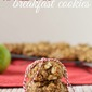 Apple Crisp Breakfast Cookies {Go Bold With Butter}