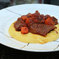 Balsamic Braised Short Ribs with Cheddar Polenta