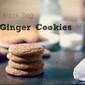 Black Dog Ginger Cookies