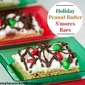 Holiday Peanut Butter S'more Bars