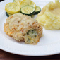 Creamy Broccoli Cheese Stuffed Chicken