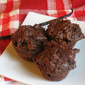 Cocoa Almond Brownie Bites