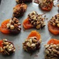Chocolate Coated Dried Apricots with Toasted Nuts