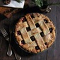 Cranberry Pie with Rosemary Buttermilk Crust