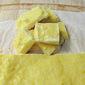 Freezer Ginger Squares