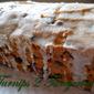 Pumpkin Chocolate Chip Bread with Eggnog Glaze