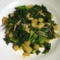 Garlic Kale and Potato Warm Salad