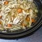 Crockpot/Slow Cooker Chicken Noodle Soup