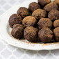 Dark Chocolate and Rum Truffles