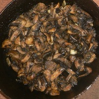 Teriyaki Mushrooms