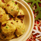 Christmas Chicken Meatballs with Cranberry and Jalapeno: 5 Ingredients