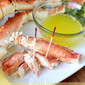 Drunken Alaska King Crab Legs + Hy-Vee Cooking Video and Giveaway!