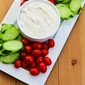 Greek Yogurt and Tahini Dip for Tomatoes and Cucumbers (plus 10 More Healthy Vegetable Dips)