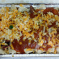 Pulled Pork Enchiladas with Spiced Tomato Sauce