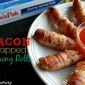 Bacon Wrapped Spring Rolls {Easy Holiday Appetizers that will #PakTheParty!}