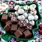 Egg Nog & Sugar Cookie Oreo Truffles + {More Candy Tray Ideas}