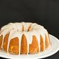 Eggnog Bundt Cake with Rum Icing