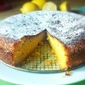 Lemon and Saffron Semolina Cake