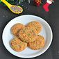 Eggless Sprinkle Cookies Recipe | Christmas Cookies