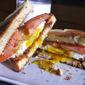 Bacon, Egg, and Tomato Sandwich