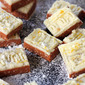 No Bake Lemon Squares