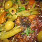 Moroccan Tagine of Mutton with Green Beans and Olives
