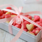 Mini Cookies | Heart Shaped Mini Cookies | Pink Cookies | Christmas Edible Gifts | New Year Recipes | Valentine's Day Recipes