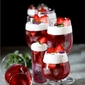 Dessert | Dragon fruit & Strawberry Christmas Jelly … Merry Xmas