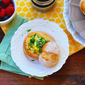 Baked Ham And Cheese Egg Bread Rolls