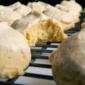 Pumpkin Sugar Cookies with Brown Sugar Buttercream Glaze #CartonSmart