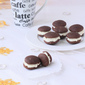 Classic Chocolate Whoopie Pies With Marshmallow Crème Filling ~ December Daring Bakers' Challenge