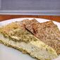 Savory Pesto-Swirled Cheesecake