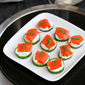 Smoked Salmon & Cucumber Appetizer Recipe with Caper Yogurt