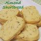 Almond Orange Shortbread
