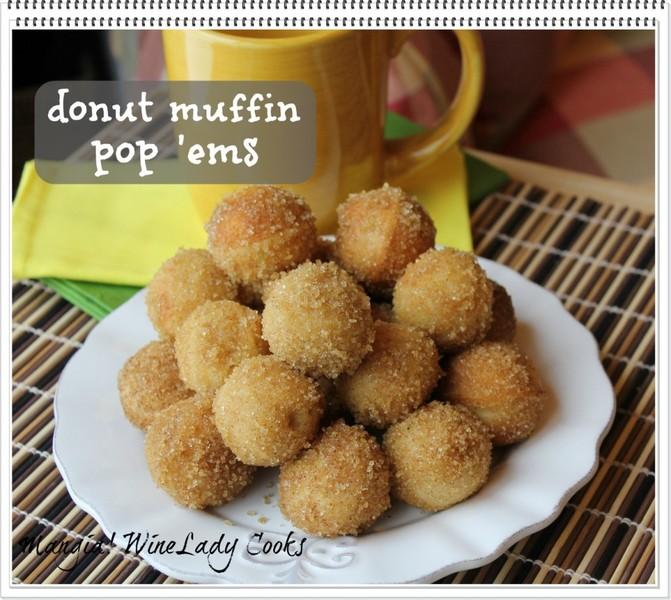 Sugar Donut Pop 'ems