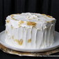 Lemon Meringue Vanilla Cake