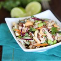 Healthy Thai Chicken Salad {For 1!}