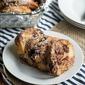 Overnight Chocolate Pecan Pie French Toast Casserole