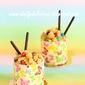 Kodomo, Rainbow dream: Vanilla and Berry jelly entremets