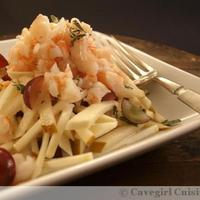 Shrimp and Celery Root Salad