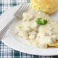 Southern-style Sausage Gravy & Biscuits