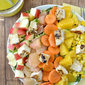 Sunshine Chopped Salad with Orange-Ginger Vinaigrette