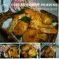 Cereal Curry Prawns