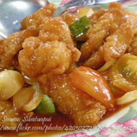 Fish Fillet with Sweet and Sour Sauce
