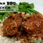 Slow Cooker Asian BBQ Chicken