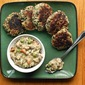 Meatless Monday : Quinoa Cakes with Cream of Mushroom Soup