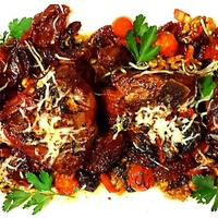 Bobby Lovera's T-Bone Lamb Chops with Sundried Tomato Salad