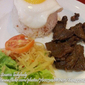Beef Tapa with Atchara