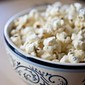 Clean Eating Garlic Parmesan Popcorn