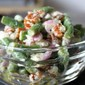 Green Bean-Feta-Pecan salad